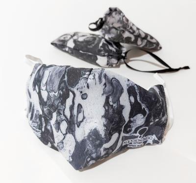 Fabric mask black & white