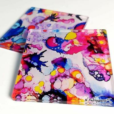 Plexiglass coasters set