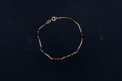 Bracelet with precious stones