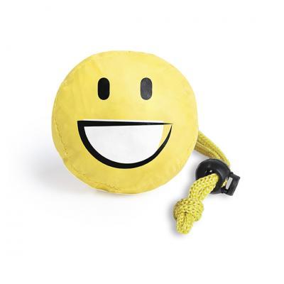 Foldable bag smiley