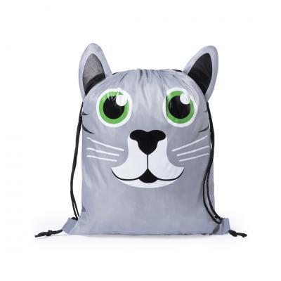 Drawstring animal bag