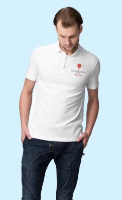 Unisex polo t-shirt